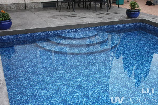 Pool Walk In Stairs Uv Pools
