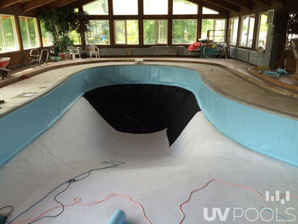 Commercial Pool Membrane Liner Uv Pools